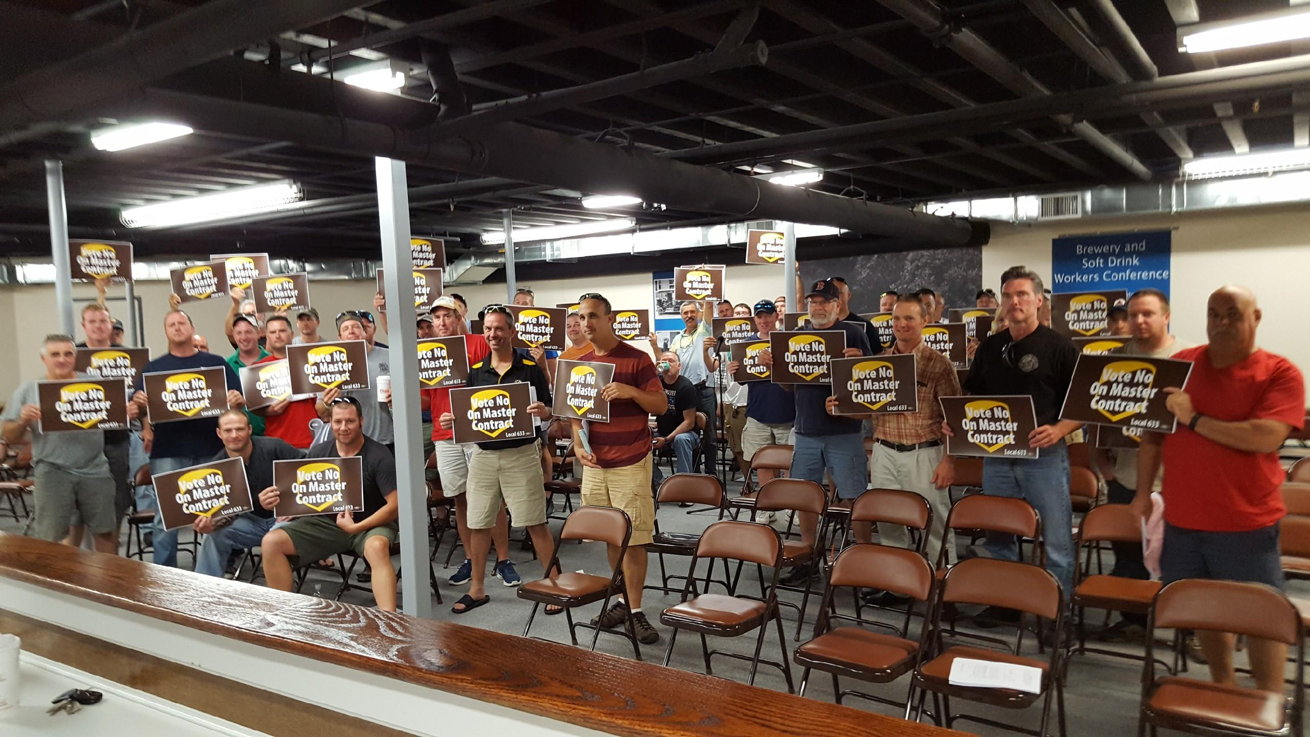 Ups And Ups Freight Teamsters At Local 633 Say No Concessions